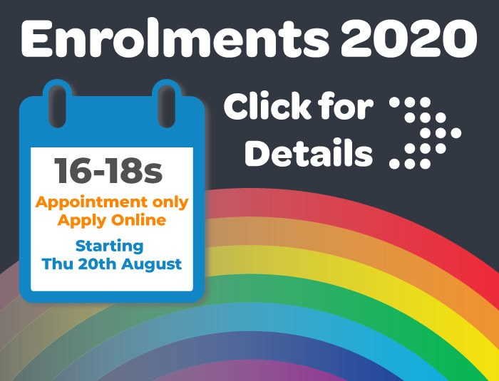 Enrolment dates 2020
